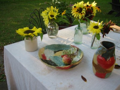 Ceramics by Natsuko Uchino, Summer 2008