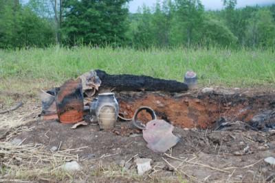 Fire Pit, 2009
